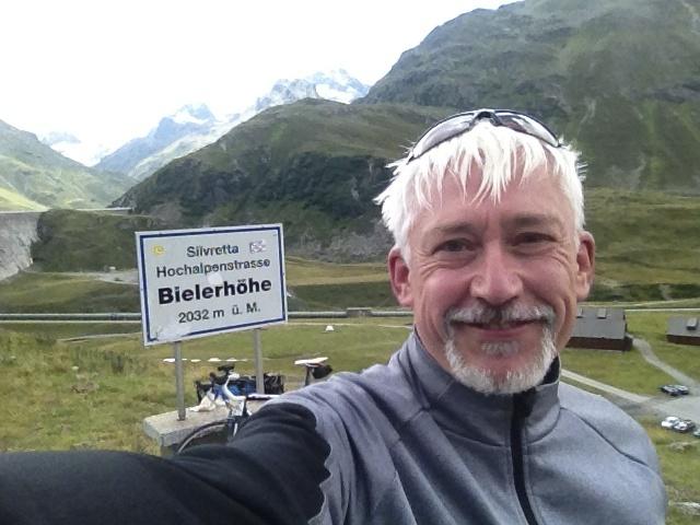 Werner Merk, Radtour Konstanz-Graz 2013