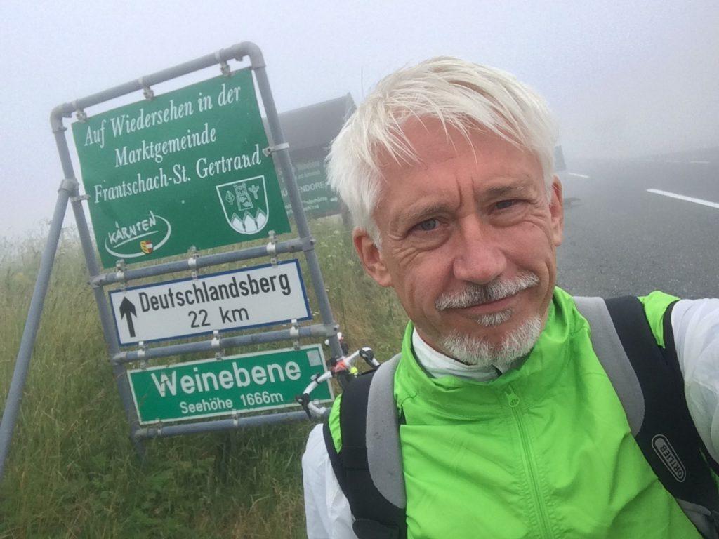 Werner Merk, Radtour 2015
