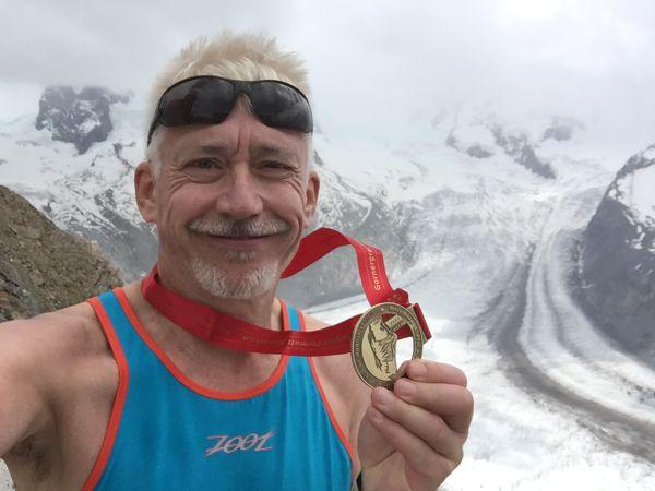 Werner Merk, Ultramarathon Zermatt 2016